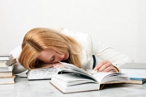 Izčrpanost za mizo, stres na delovnem mestu